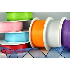 44040 - 25mm & 40mm Wired Sheer with Strong Coloured Edge (25 Metres)