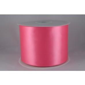 54033 100mm - Pink Single Satin Sash Ribbon (50 Metres)