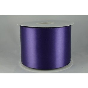 54033 100mm - Cadbury Purple Single Satin Sash Ribbon (50 Metres)