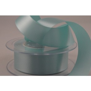 W2 - 25mm Turquoise Single Faced Satin Ribbon x 10 Metre Rolls!