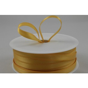 7mm Gold Double Faced Satin Ribbon x 50 Metre Rolls!