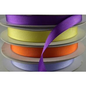 16mm Coloured Grosgrain Ribbon x 20 Metre Rolls!!