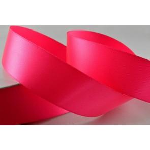 24mm Pink Single Satin Ribbon x 20 Metre Rolls!!