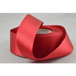 X90 - 40mm Plain Red Ribbon x 20 Metre Rolls!
