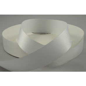 24mm White Acetate Ribbon x 100 Metre Rolls!